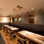 喜水亭 和樂 - 最大12名様まで対応のテーブル席です!