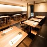 喜水亭 和樂 - 最大24名様まで対応のテーブル席です!