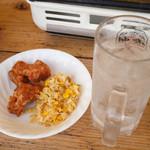 コスモビアガーデン - 食べ物写真3