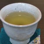 香炉庵 茶寮 - お茶を煎れて頂けました