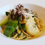 JIMI - 鰻と貝類・和香草のスパゲティーニ