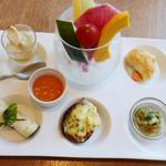JIMI - 茄子と香味野菜のプレート
