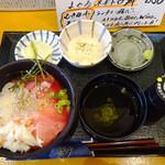 かきや NO KAKIYA - 海鮮3色丼