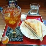 ジゅんベリーCafe - アールグレイ&小倉サンド