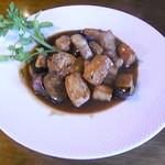 Restaurant Wokini - 豚ロースと茄子のバルサミコ