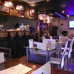 Restaurant Wokini - 早夕 いい感じのオープンエア