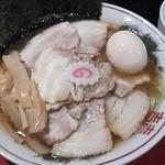 肉煮干し中華そば さいころ 中野本店 - 特製中華¥880