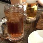 ホルモン和 - ウーロンハイ(390円)&生ビール(490円)