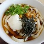 ふじやま食堂 - 冷しぶっかけなめこおろしごうりきうどんバージョン720円
