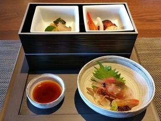 料理茶屋 天の謌 - 天の謌昼和膳(3500円税)です。