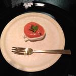 40616959 - モッツァレラチーズとトマトドレッシング