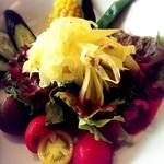 稲こし - [夏]御殿場野菜のサラダ