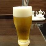 天香回味 - 生ビール:594円