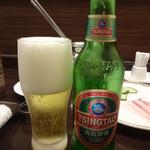 天香回味 - 青島ビール:573円