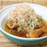 食楽部屋みなみ - 京都名物生麩の揚げ出し!もちもち食感をお楽しみください。
