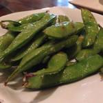 鉄板焼 みつい - 焼き枝豆