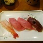 新太郎寿司 - おまかせ「にぎり」にて