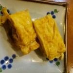 新太郎寿司 - 出汁が効いた玉子焼き