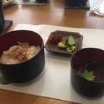 和食処 かおり - チリメンご飯!