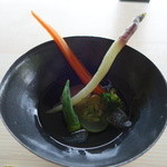 素透撫 - 料理写真:冷たいポトフ