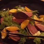 博多とーすと - 鴨とオレンジのサラダ