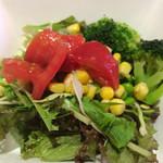 ブッチャーズ☆グリル - サラダバーのサラダ