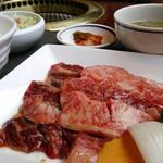 焼肉徳寿 - 料理写真:ランチ/焼き肉徳寿セット ¥1,250