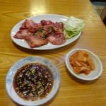 食道苑 - 上カルビ定食:1,300円