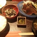 麹蔵 - かつおたたき定食