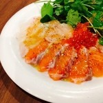 ESOLA - 田崎市場より毎日直送の鮮魚をカルパッチョで!豪華4~5種盛り合わせ!