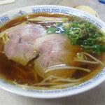 力餅食堂 - 中華そば650円
