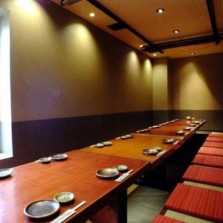 忘新年会◆幹事様必見◎掘り炬燵完全個室は最大22名様まで可能