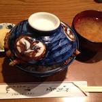 天ぷら 中山 - 天丼(1,100円)+蓮根追加(120円)