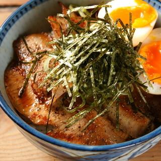 炙り豚トロ丼