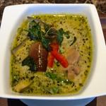 タイレストラン タニサラ - グリーンカレー