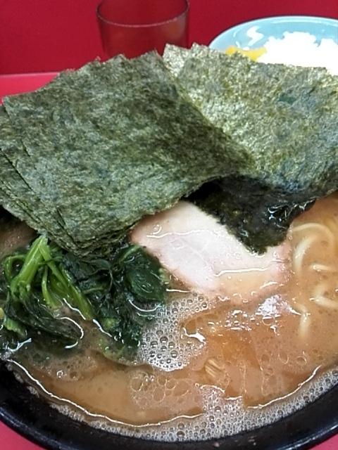 杉田家 - ラーメン¥650+のり増し¥70  味薄