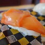 元気寿司 - 赤貝、回転では上位