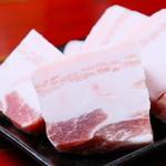 肉三昧 石川竜乃介 - 愛媛県産 銘柄ブランド豚 和栗豚 上質の脂身が多いのが特徴!