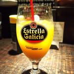 ビストロボンノ - ランチドリンク(オレンジジュース)