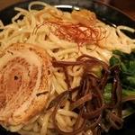 龍神 - ・「ごまつけ麺(\750)」の麺皿アップ。