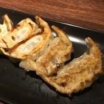 和風楽麺 四代目 ひのでや - 焼き餃子(1皿5個) 280円
