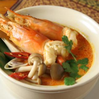ジャスミンタイ - 料理写真:海老の辛酸スープ 【トムヤムクン】