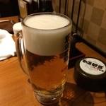 龍馬 軍鶏農場 - 生ビール中