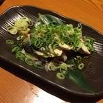 龍馬 軍鶏農場 - 炙り〆め鯖ポン酢