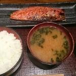 越後屋 - 鯖の味醂干し定食