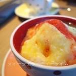 カフェ テーブルテラス - フリュレージュかき氷...470円(ハーフサイズ)