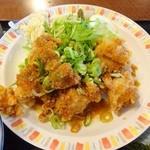 40654445 - 油淋鶏定食(アップ)