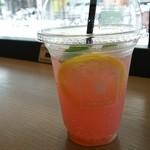 Culfe - ピンクグレープフルーツライチソーダ
