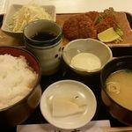 浜市 - エビカツ定食(ご飯大盛り)