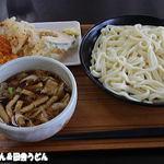 あぐれっしゅげんき村 - 2015年8月 肉汁うどん天ぷら盛り放題